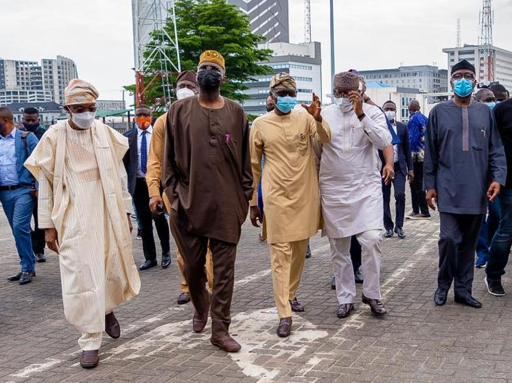 #Lekki Massacre: S'West Governors, Federal Ministers, Othe