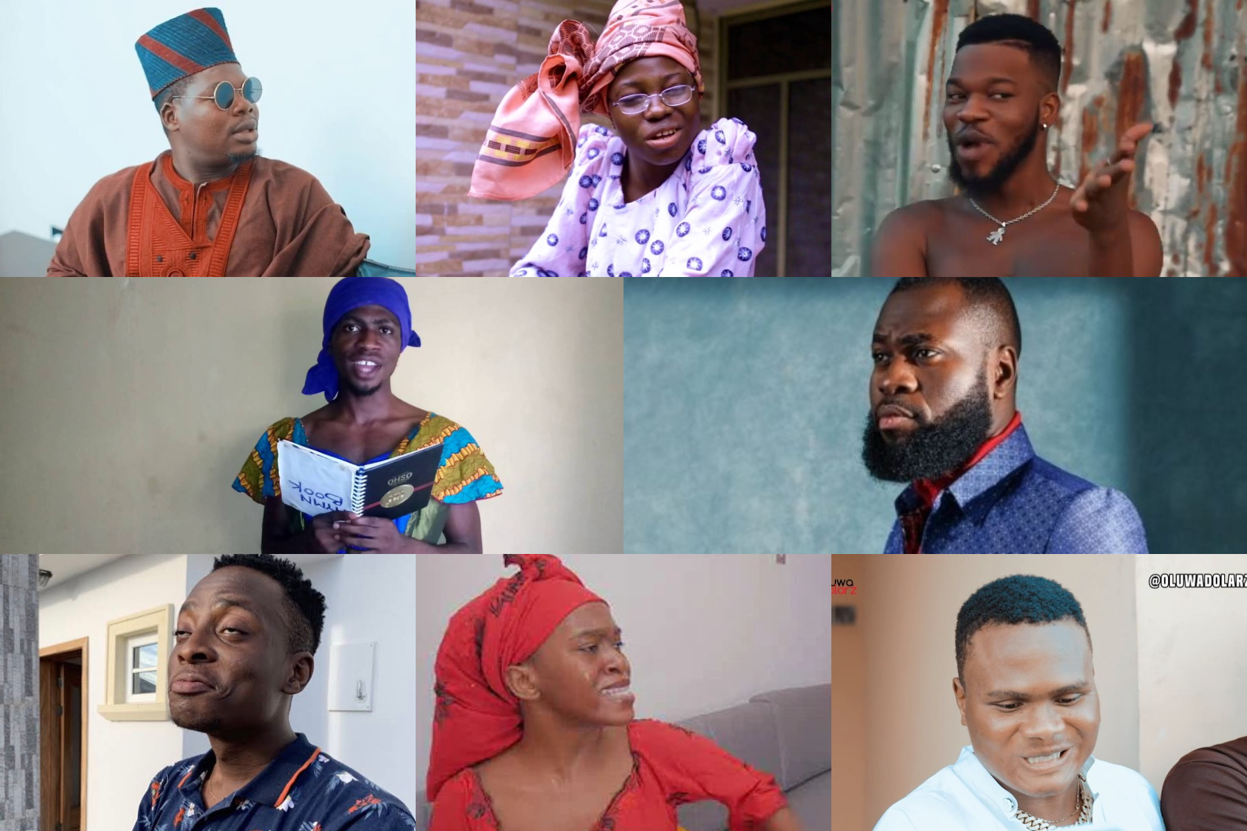 Who amongst these is most creative in skits making?