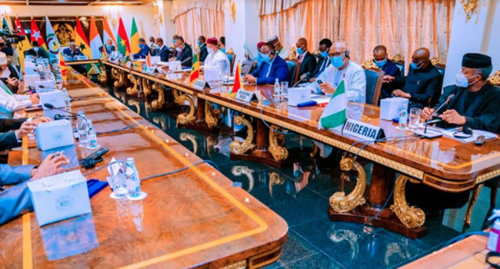 ECOWAS Member States Rejected Mali's Forceful Change Of Govt