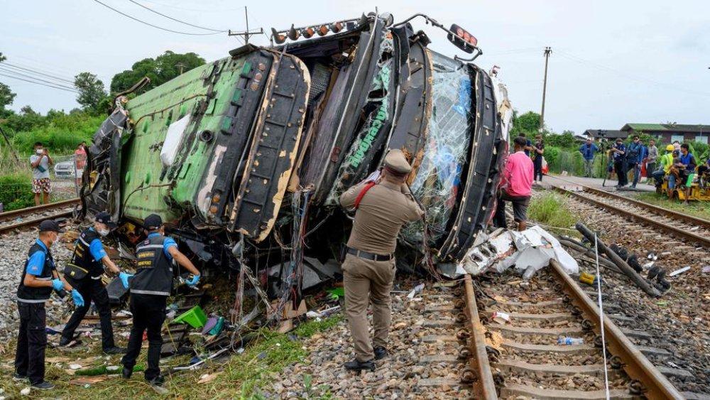 Train Collision Leaves 18 People Dead
