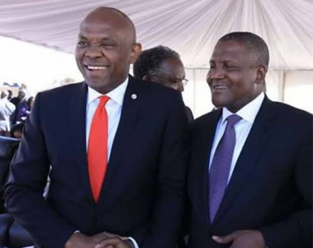Dangote, Elumelu Accused Of Prioritising Money Over Youths K