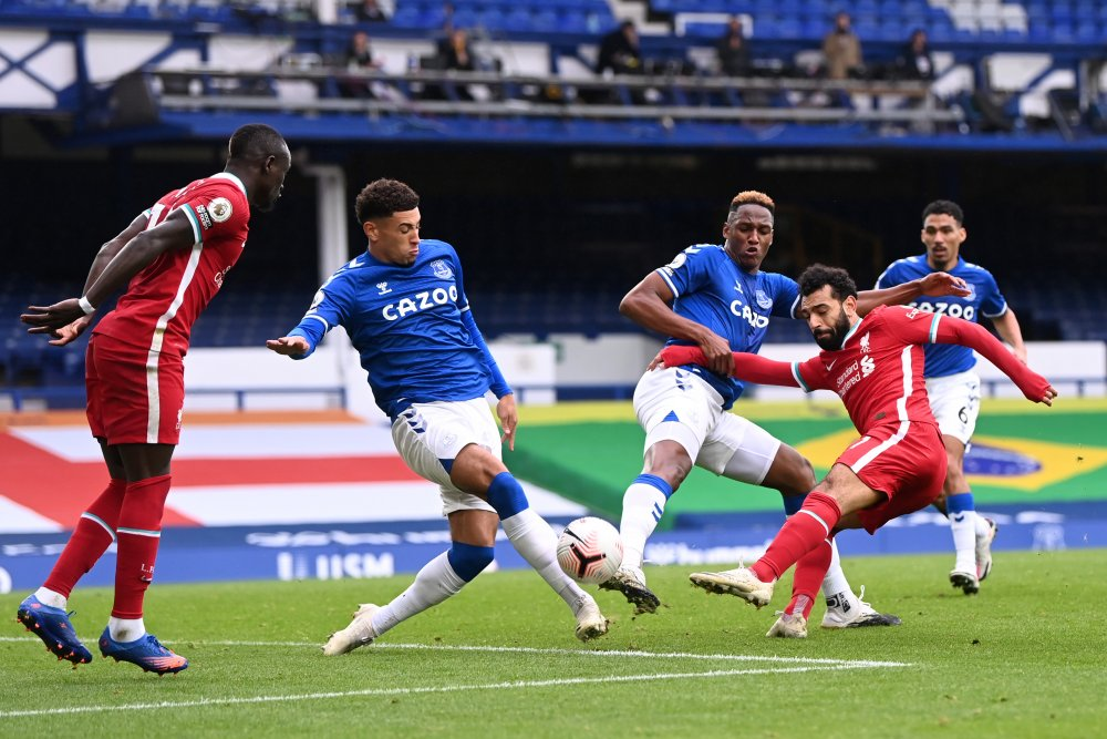 Everton Holds Liverpool To 2-2 Draw With Calvert-Lewin Heade