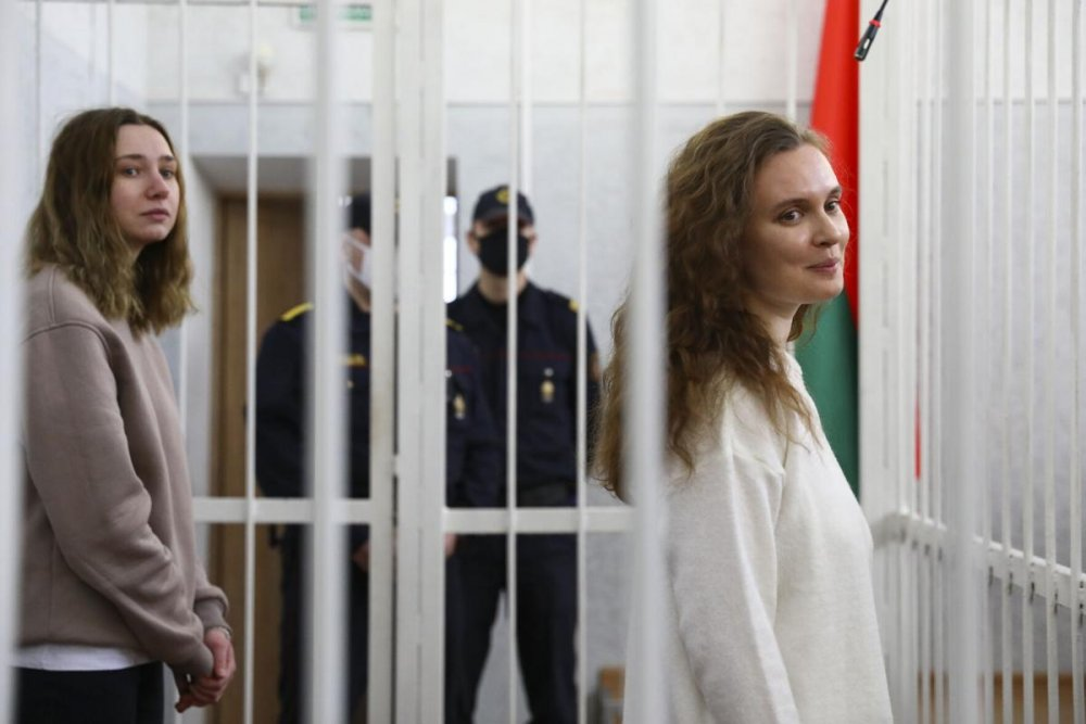 Belarus Court Jails Two Female Journalists Over Protest Reportage