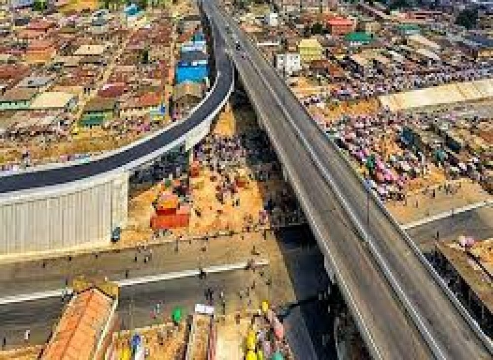 Awaiting The Opening Of Agege Pen-Cinema Flyover Bridge