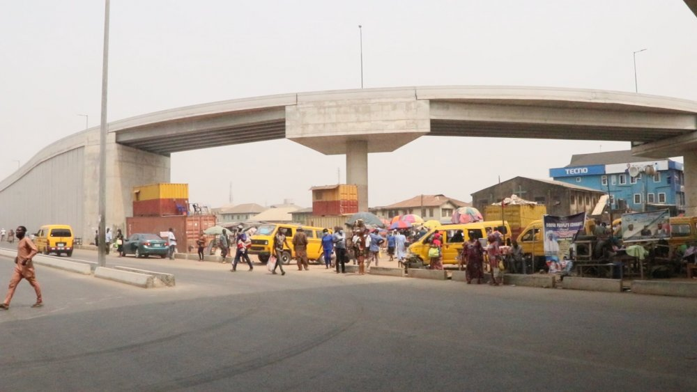 #AgegePenCinemaBridge Agege Pen Cinema Bridge under construction