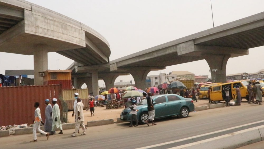 #AgegePenCinemaBridge Agege Pen Cinema Bridge photos allnews.ng