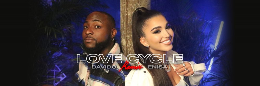 Enisa Nikaj Dishes Out 'Love Cycle Remix' Ft. Davido [VIDEO +