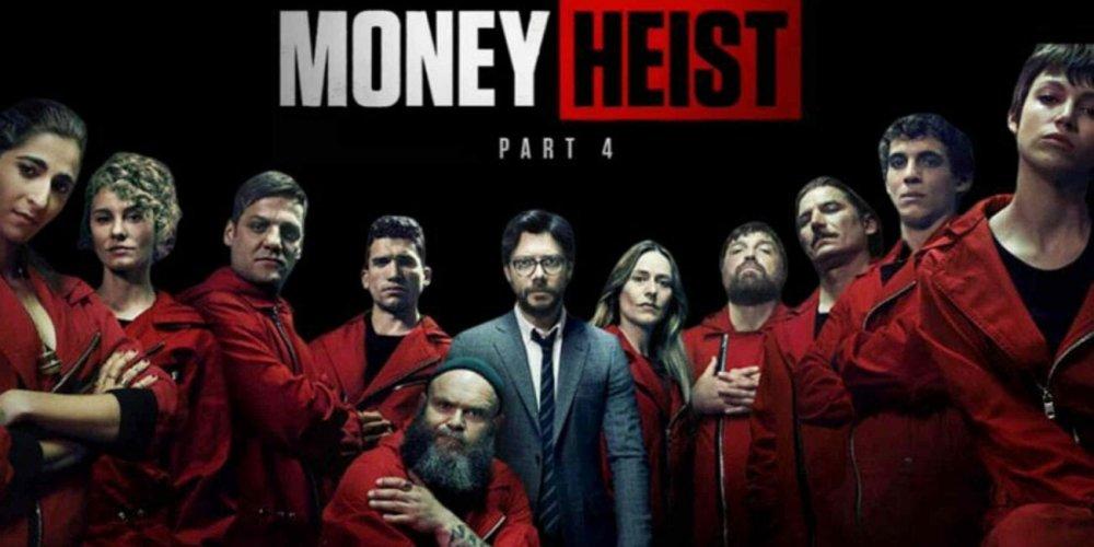 Netflix's groundbreaking series, MONEY HEIST.