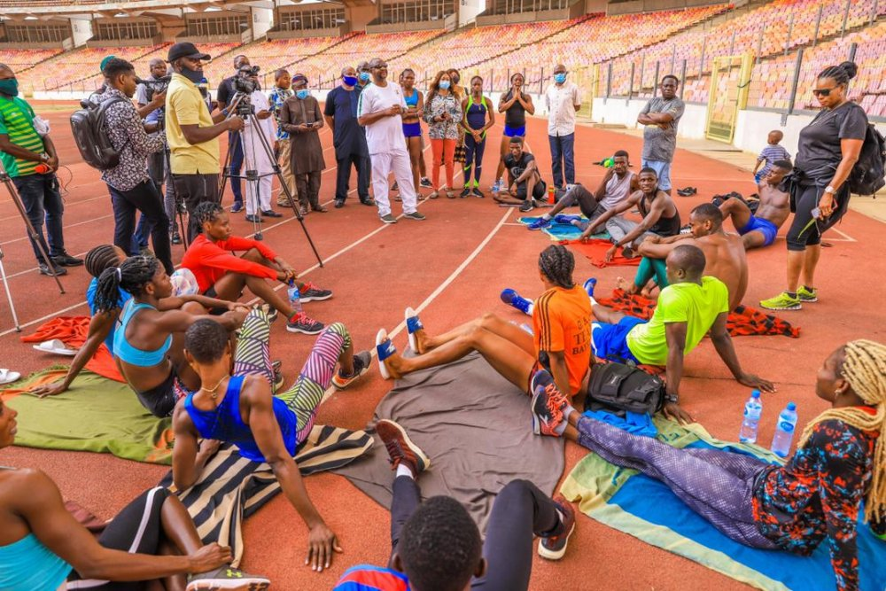 Minister of sports Nigeria