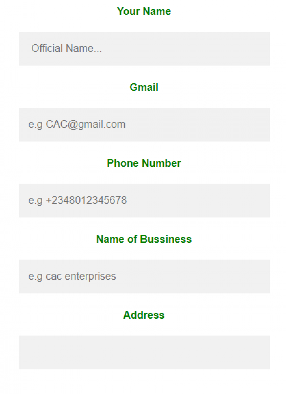 free cac registration