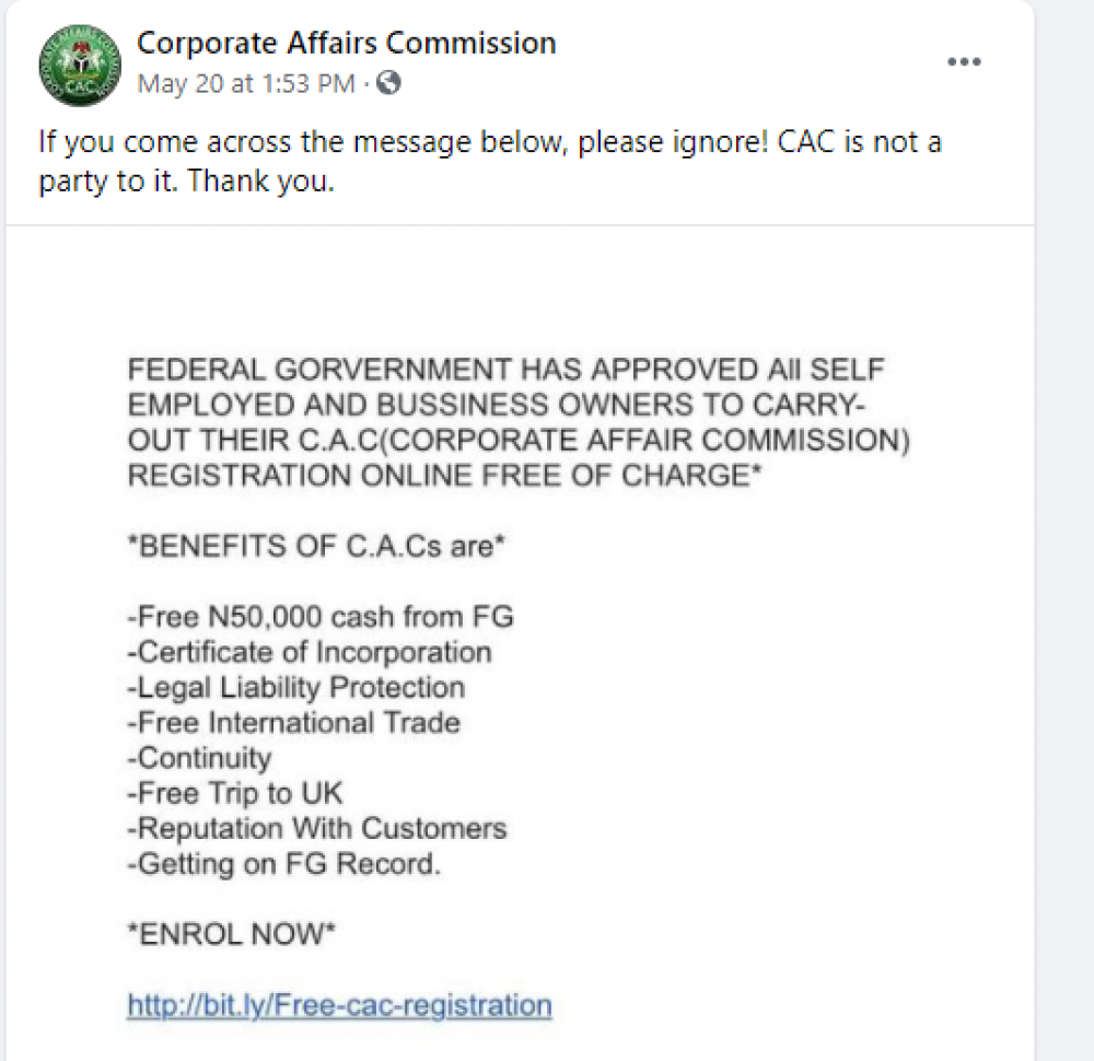 CAC Nigeria