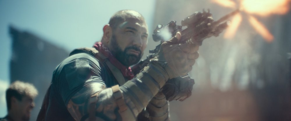 Dave Bautista as Scott Ward in ARMY OF THE DEAD