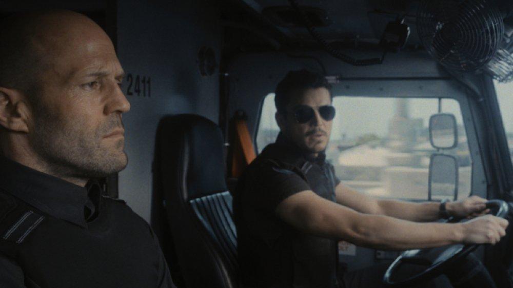 Jason Statham and Josh Hartnett in WRATH OF MAN