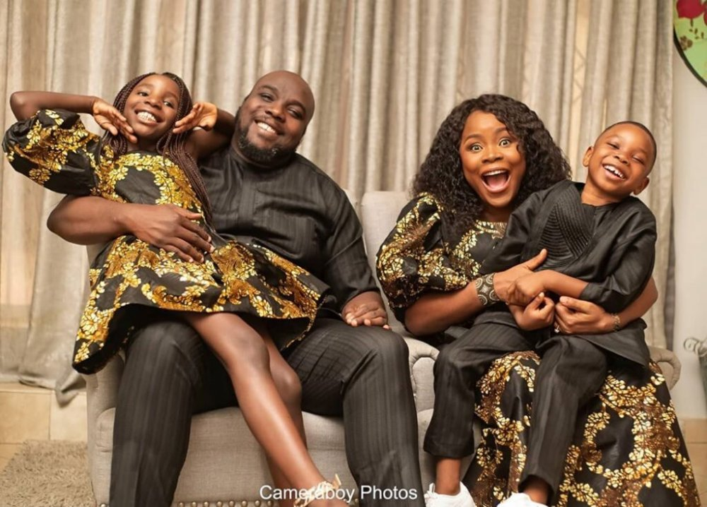 Omawumi and Family