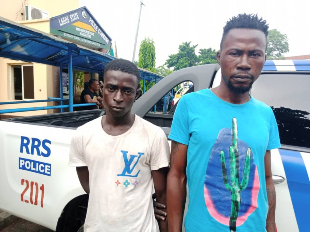 RRS Apprehend Suspected Traffic Robbers