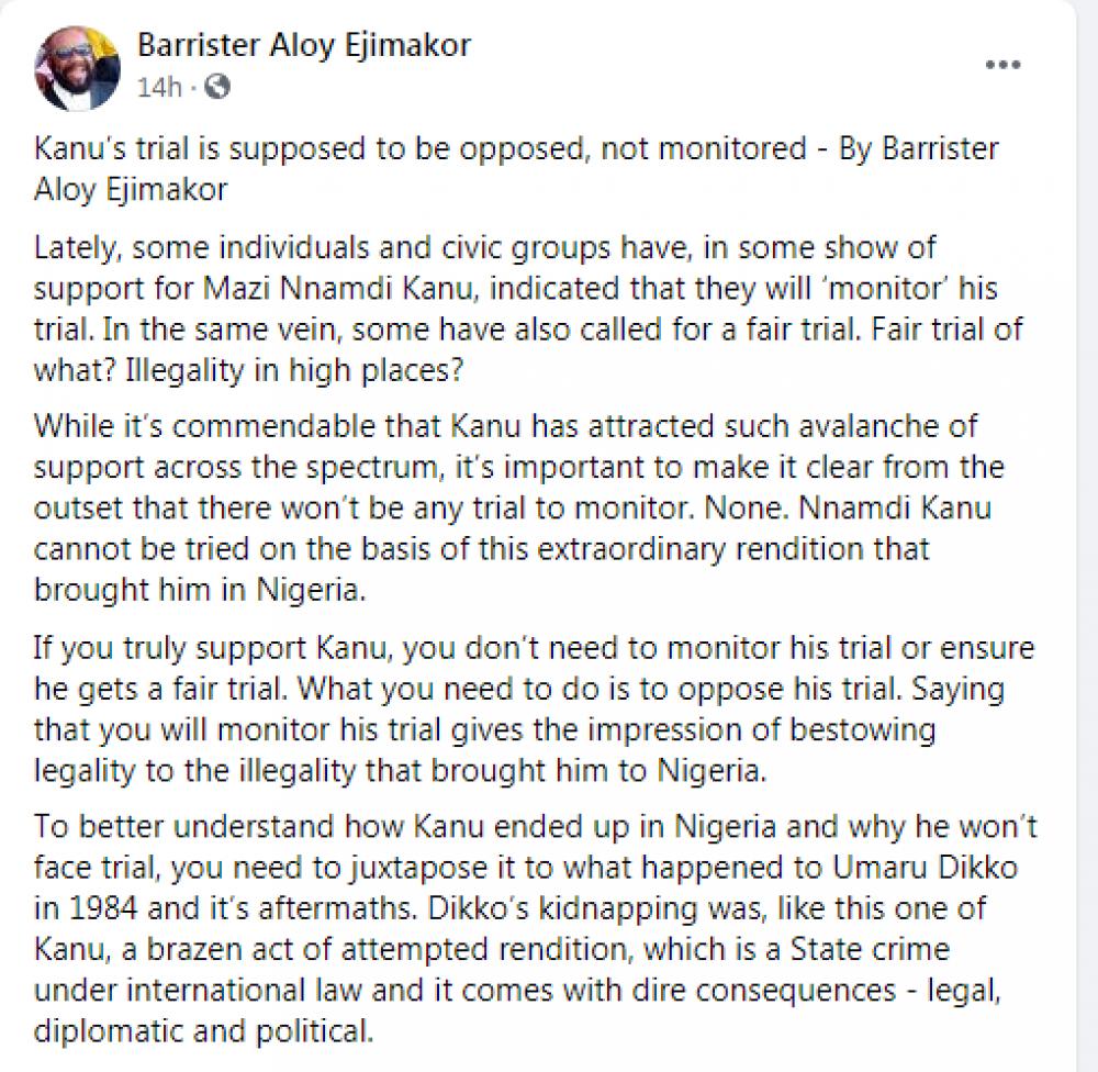 Biafra news online: