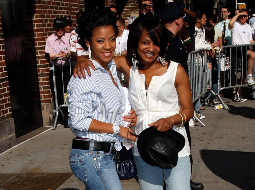 Keyshia Cole and her mother Frankie Lyons