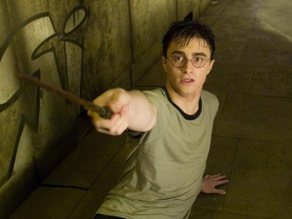 Radcliffe as Harry Potter