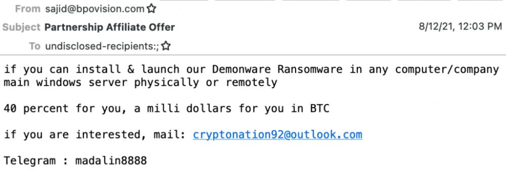 nigerian ransomware