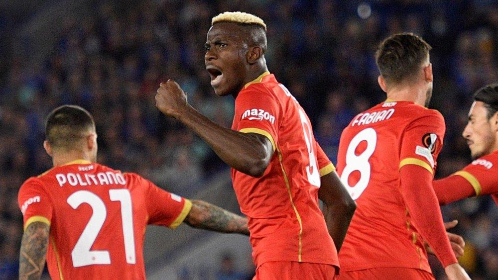 Leicester Blow Two-goal Lead As Osimhen Grabs Brac... - AllNews Nigeria